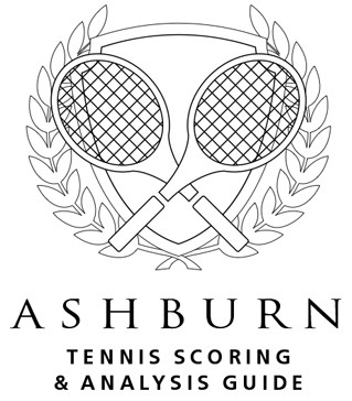 Ashburn Tennis Score Books Logo